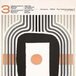 Jozef Mroszczak 1970 International Poster Biennial