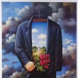 Rafal Olbinski recent paintings 1994