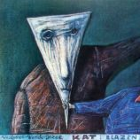 Stasys Eidrigevicius 1989 Hangman and clown